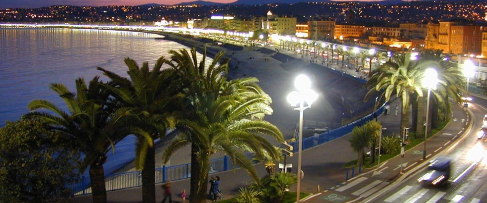 Beautiful boulevard in Nice