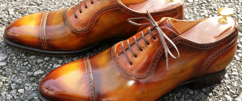 Dandy Punk shoes luxury in patina