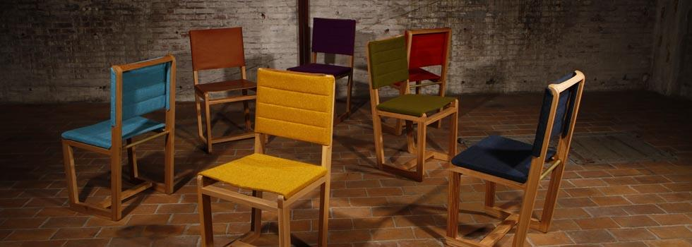 Mak dining chairs by VanDen