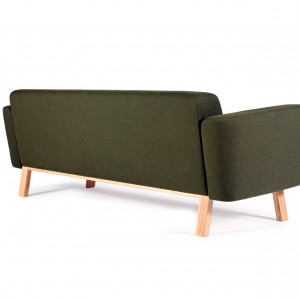 Brad retro design sofa groen - VanDen Collection