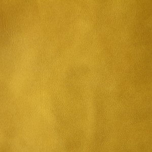 Misto aniline leather - 8399 lemon